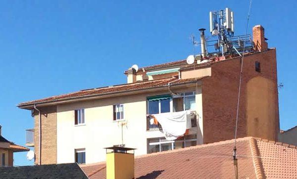 radiacion electromagnética antenas telefonia movil
